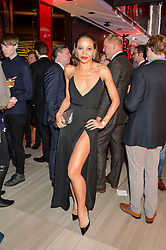 VISCOUNTESS WEYMOUTH at the launch of the new Ferrari 488 Spider held at Watches of Switzerland, 155 Regent Street, London on 25th February 2016.