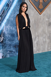 Wesley Wong at the 'Pacific Rim Uprising' Global Premiere event at Chinese Theatre on March 21, 2018 in Hollywood, CA. 21 Mar 2018 Pictured: Adria Arjona. Photo credit: O'Connor/AFF-USA.com / MEGA TheMegaAgency.com +1 888 505 6342