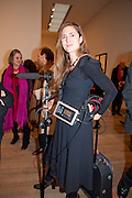 COSIMA SPENDER,  Joint opening reception for the  Van Doesburg and Gorki exhibitions. Afterwards a dinner for the Gorki exhibition. Tate Modern. London. 9 February 2010