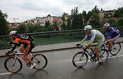 Eddy Serry of Italia (Miche - Silver Cross),Jure Kocjan of Slovenia (Perutnina Ptuj) and Jure Zagar of Slovenia (Adria Mobil) in Novo mesto in last 4th stage of the 15th Tour de Slovenie from Celje to Novo mesto (157 km), on June 14,2008, Slovenia. (Photo by Vid Ponikvar / Sportal Images)/ Sportida)