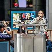London, England, UK. 27 May 2019. Street Photography Stratford station, London, UK