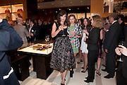 DAISY LOWE, Louis Vuitton openingof New Bond Street Maison. London. 25 May 2010. -DO NOT ARCHIVE-© Copyright Photograph by Dafydd Jones. 248 Clapham Rd. London SW9 0PZ. Tel 0207 820 0771. www.dafjones.com.