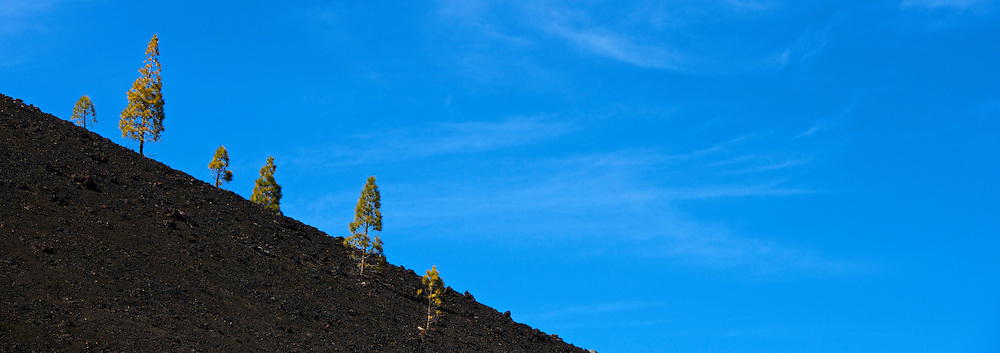 View from Mount Teide, Tenerife.
