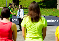Zana Jereb na Adidas sola teka 2014, Ljubljana, Slovenia. Photo by Vid Ponikvar / Sportida