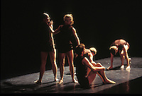 """Choreographer Cathy Marston's """"Unstrung Tension"""" for Royal Ballet"""