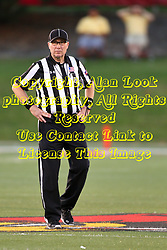 03 September 2016:  Back Judge Gary Crull. NCAA FCS Football game between Valparaiso Crusaders and Illinois State Redbirds at Hancock Stadium in Normal IL (Photo by Alan Look)