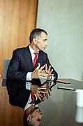 Milan, Jean Pierre Mustier, Unicredti bank CEO