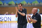 Trento 27 Luglio 2012 - Trentino Basket Cup Italia Montenegro<br /> Nella Foto: Simone Pianigiani<br /> Foto Ciamillo