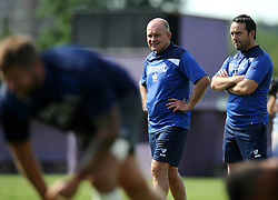 Bristol Rugby Director of Rugby Andy Robinson with Bristol Rugby Back and Skills Coach Matthew Sherratt  - Photo mandatory by-line: Joe Meredith/JMP - Mobile: 07966 386802 - 03/07/2015 - SPORT - Rugby - Bristol - Bristol Rugby Training Ground - Bristol Rugby Pre-Season Training