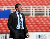 Photo: Ed Godden.<br />Swindon Town v Stockport County. Coca Cola League 2. 26/08/2006. Stockport Manager Jim Gannon.