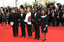 French Minister of Culture Francoise Nyssen attends the 70th Anniversary screening during the 70th annual Cannes Film Festival at Palais des Festivals on May 23, 2017 in Cannes, France. Photo by Shootpix/ABACAPRESS.COM