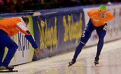 13-01-2013 SCHAATSEN: EK ALLROUND: HEERENVEEN<br /> NED, Speedskating EC Allround Thialf Heerenveen / 10000 men - Sven Kramer <br /> ©2013-FotoHoogendoorn.nl