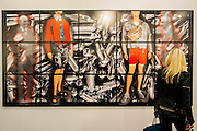 Dalston by Gilbert and George - Frieze London and Frieze Masters 2014, Regents Park, London, 14 Oct 2014.