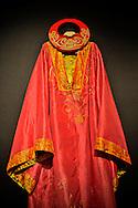 Royal silk embroidered tunic, Dalat, Lam Dong Province, Vietnam, Southeast Asia