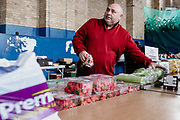 MERTHYR TYDFIL, WALES - 05 MAY 2020: Local charity, Dowlais Engine House prepare & deliver food bank parcels to vulnerable people who are self isolating during the covid19 lockdown.