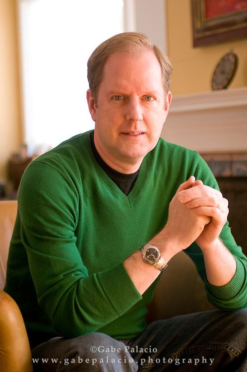 Warren Berger, author..photo by Gabe Palacio