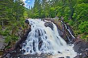 Chute du Diable. This is a provincial parc, not a true federal park.<br />Parc national du Mont-Tremblant<br />Quebec<br />Canada