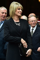 Ruth Langsford  beim Gedenkgottesdienst f¸r Terry Wogan im Westminster Abbey in London / 270916<br /> <br /> ***Memorial service for Terry Wogan at Westminster in London, September 27th, 2016***
