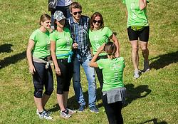 Denis Avdic at 5km and 10km running race for women 12th DM Tek za zenske, on May 27, 2017 in Tivoli, Ljubljana, Slovenia.Photo by Vid Ponikvar / Sportida