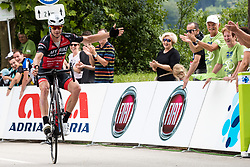 Rok Korosec of My Bike - Stevens at Finish line during 3rd Stage of 25th Tour de Slovenie 2018 cycling race between Slovenske Konjice and Celje (175,7 km), on June 15, 2018 in  Slovenia. Photo by Matic Klansek Velej / Sportida