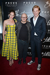 August 16, 2018 - New York, NY, USA - August 16, 2018  New York City..Ruth Wilson, Lenny Abrahamson and Domhnall Gleeson at the 'The Little Stranger' film premiere on August 16, 2018 in New York City. (Credit Image: © Kristin Callahan/Ace Pictures via ZUMA Press)
