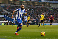Brighton & Hove Albion full back Bruno Saltor (2) during the EFL Sky Bet Championship match between Brighton and Hove Albion and Burton Albion at the American Express Community Stadium, Brighton and Hove, England on 11 February 2017. Photo by Richard Holmes.