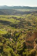 Rural valley in Ronda, Spain