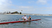 """San Diego, California. USA.  USA Double Olympian Gold Medalist,  Zsuzsanna """"Susan"""" FRANCIA, in  her role as  Women's Varsity coach at the San Diego Rowing Club. Mission Bay.  15:29:44.  Thursday  11/04/2013   [Mandatory Credit. Peter Spurrier/Intersport Images]"""