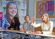Maxima brengt bezoek aan Startcollege