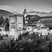 The Alhambra B&W