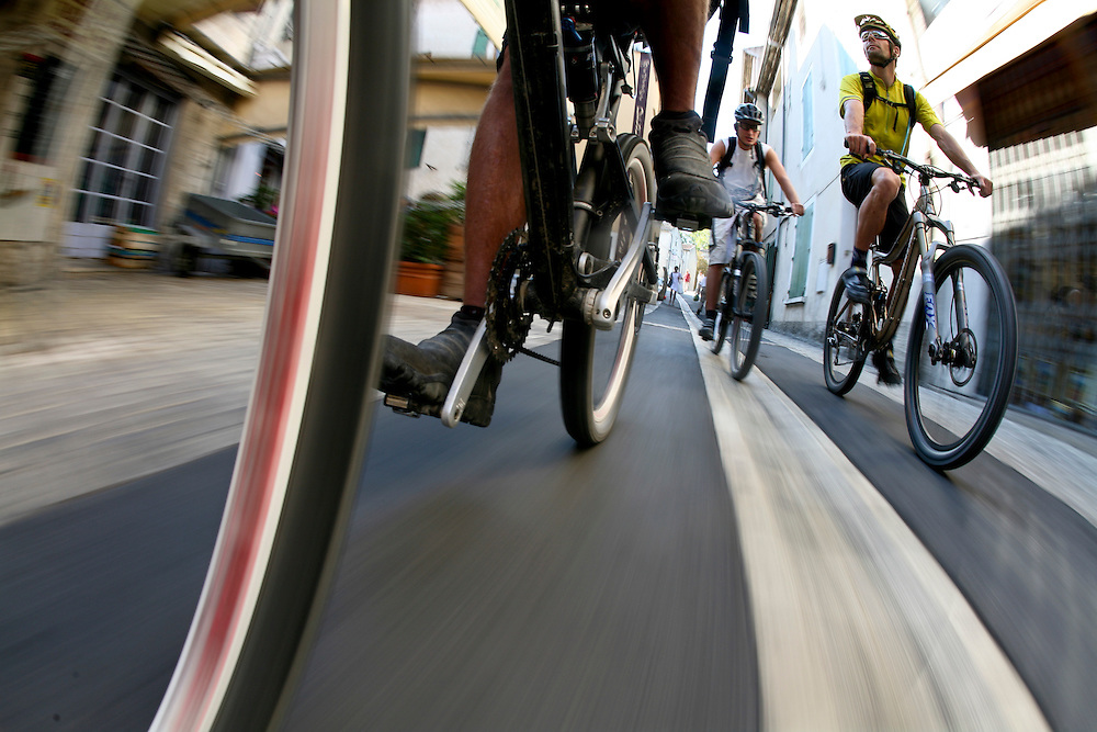 Bicycling  Through Saint-Remy-de-Provence