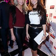 NLD/Amsterdam/20131111 - Beau Monde Awards 2013, Xelly Cabau van Kasbergen en vriendin