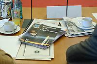 25 SEP 2002, BERLIN/GERMANY:<br /> 1. Sitzung des Arbeitskreises Raketenabwehr des Hessischen Stiftung Friedens- und Konfliktforschung, HSFK, Paul-Loebe-Haus, Deutscher Bundestag<br /> IMAGE: 20020925-01-012<br /> KEYWORDS: Arbeitskreis