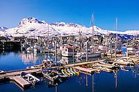 Harbor, Valdez, Alaska USA