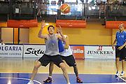 DESCRIZIONE : Folgaria Allenamento Raduno Collegiale  Nazionale Italia Maschile <br /> GIOCATORE : Daniele Magro<br /> CATEGORIA : difesa<br /> SQUADRA : Nazionale Italia <br /> EVENTO :  Allenamento Raduno Folgaria<br /> GARA : Allenamento<br /> DATA : 18/07/2012 <br />  SPORT : Pallacanestro<br />  AUTORE : Agenzia Ciamillo-Castoria/GiulioCiamillo<br />  Galleria : FIP Nazionali 2012<br />  Fotonotizia : Folgaria Allenamento Raduno Collegiale  Nazionale Italia Maschile <br />  Predefinita :