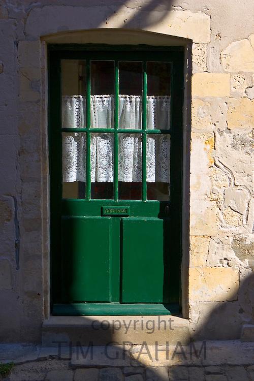 Traditional door, Ile De Re, France.