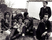 UK Subs with fans at Scot Fest