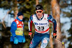 March 16, 2018 - Falun, SVERIGE - 180316 Simeon Hamilton, USA tÅvlar i sprintprologen under Svenska Skidspelen den 16 mars 2018 i Falun  (Credit Image: © Simon HastegRd/Bildbyran via ZUMA Press)