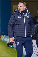 Bristol Rovers manager Graham Coughlan during the EFL Sky Bet League 1 match between Gillingham and Bristol Rovers at the MEMS Priestfield Stadium, Gillingham, England on 12 March 2019.