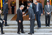 Mario Monti and Mariano Rajoy, prime ministers at Hispano-Italian meeting