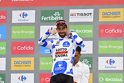 September 15, 2018 - Sant Julia De Loria, SPAIN - Belgian Thomas De Gendt of Lotto Soudal pictured at the 20th stage of the 'Vuelta a Espana', Tour of Spain cycling race, 97,3km from Escaldes-Engordany to Sant-Julia de Loria, Spain, Saturday 15 September 2018. ..BELGA PHOTO YUZURU SUNADA FRANCE OUT. (Credit Image: © Yuzuru Sunada/Belga via ZUMA Press)