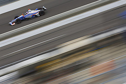 May 18, 2018 - Indianapolis, Indiana, United States of America - STEFAN WILSON (25) of England brings his car down the frontstretch during ''Fast Friday'' practice for the Indianapolis 500 at the Indianapolis Motor Speedway in Indianapolis, Indiana. (Credit Image: © Chris Owens Asp Inc/ASP via ZUMA Wire)