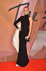 Amber Le Bon attending The Fashion Awards 2016 at the Royal Albert Hall, London.