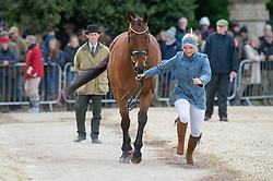 Tattersall Gemma, (GBR), Arctic Soul<br /> First Horse Inspection - Mitsubishi Motors Badminton Horse Trials <br /> Badminton 2015