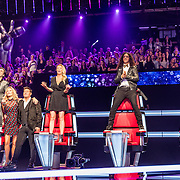 NLD/Hilversum//20170218 - Finale The Voice of Holland 2017, coaches