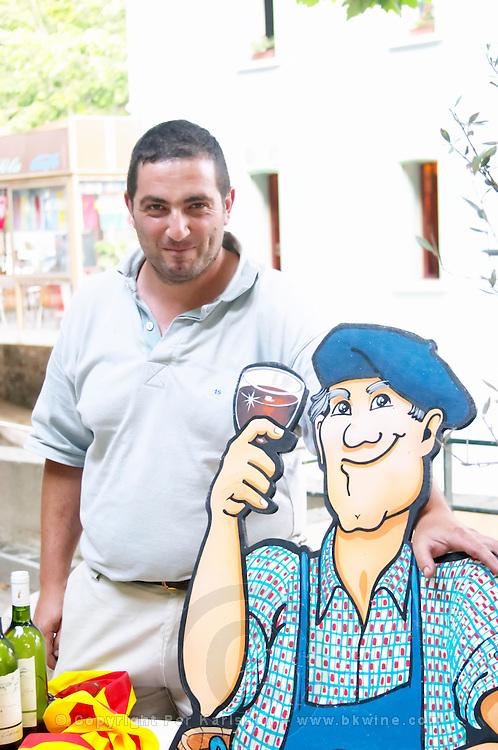 Guy Puig Domaine Mamya Puig. Collioure. Roussillon. Owner winemaker. France. Europe.