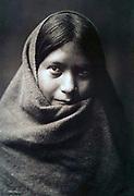 Native American Indian: Pakit, Maracopa girl, c1907.