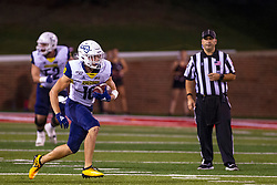 NORMAL, IL - September 21: Hendrix Johnson during a college football game between the ISU (Illinois State University) Redbirds and the Northern Arizona University (NAU) Lumberjacks on September 21 2019 at Hancock Stadium in Normal, IL. (Photo by Alan Look)