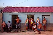 Outside a house in Gibara,Holguin,Cuba.