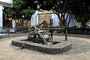 Historic water wheel, Pajara, Fuerteventura, Canary Islands, Spain